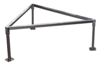Paelleras Trébede Triangular de Acero CBC Bellvis