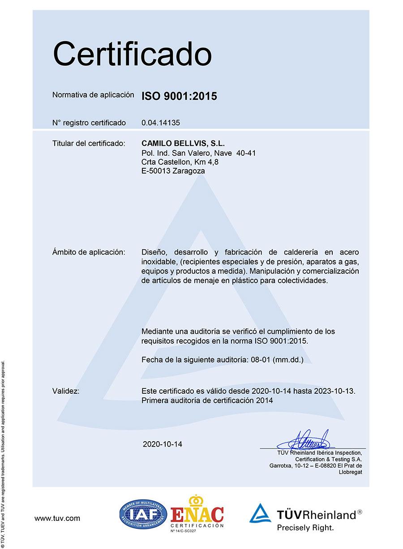 certificado ES