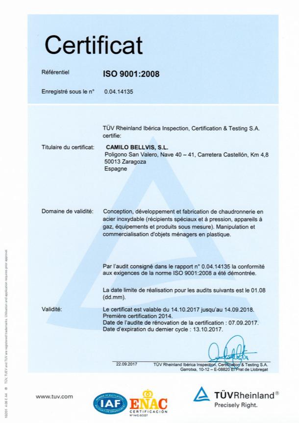 certificado GER