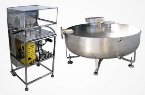 CBC Bellvis stainless steel pressure equipment