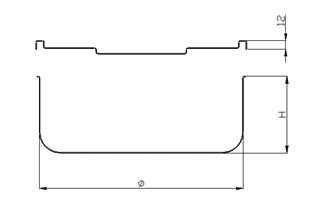 Medidas Recipientes Interiores Isotermos Con Tapadera Acero Inoxidable CBC Bellvis