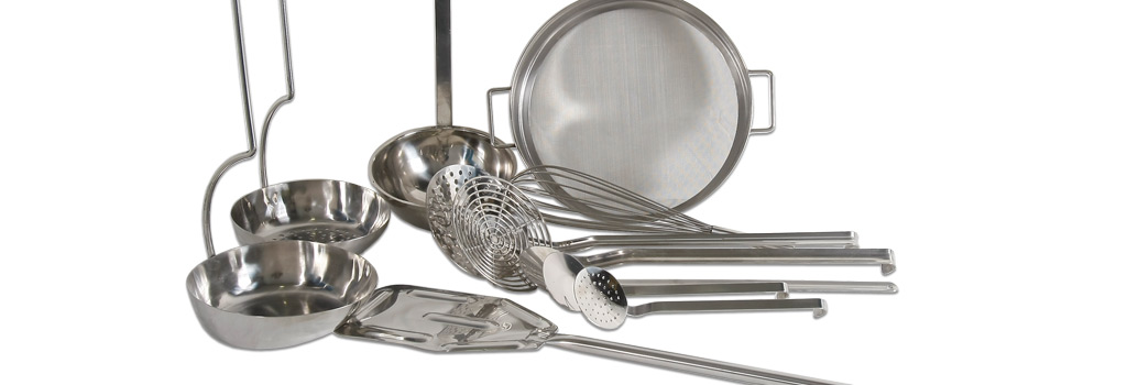 CBC Bellvis menaje cocina artesano en Acero Inoxidable