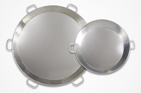 CBC Bellvis stainless steel paella pans