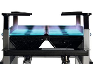CBC Bellvis quemador industrial M-400 Acero Inoxidable